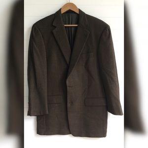 Burberry Olive Suit Jacket Men 40 Regular Blazer
